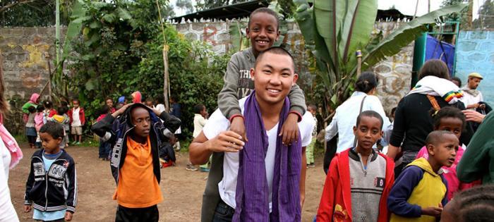 Daniel Nguyen abroad